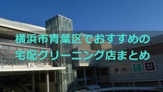 横浜市青葉区でおすすめの宅配クリーニング店の口コミ評判