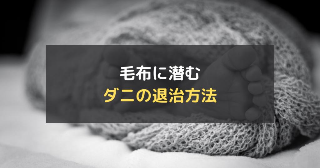 毛布クリーニング