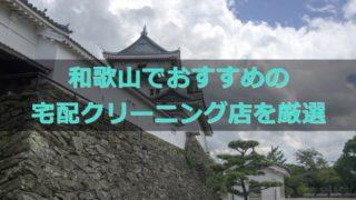 和歌山宅配クリーニング,おすすめ,比較