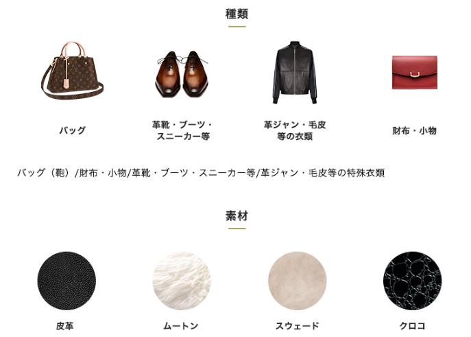 リナビス皮革製品
